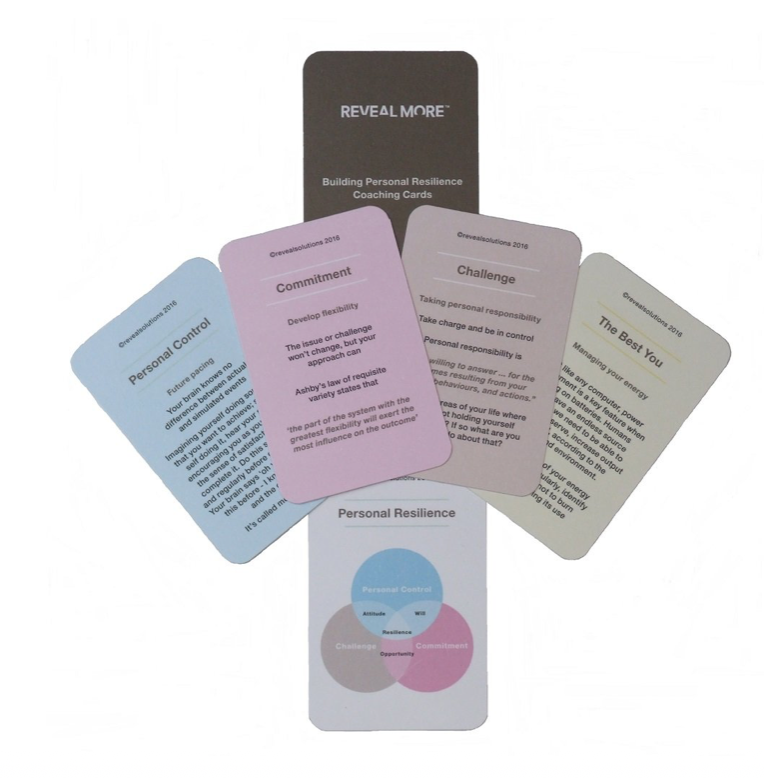 Building personal resilience coaching cards