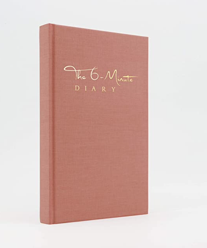 The 6-Minute Diary - 6 Minutes a Day for more Mindfulness, Happiness and Productivity