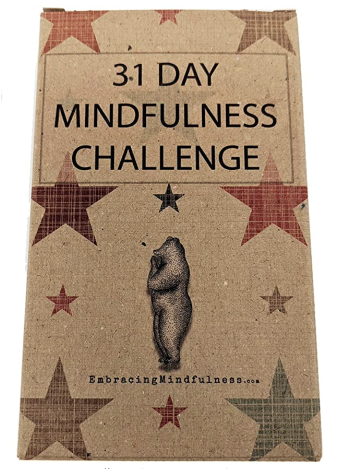 31 days of mindfulness challenge cards