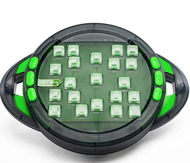 Brain teaser memory game